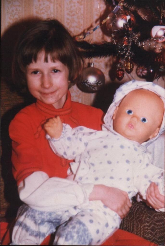Agnieszka z lalką