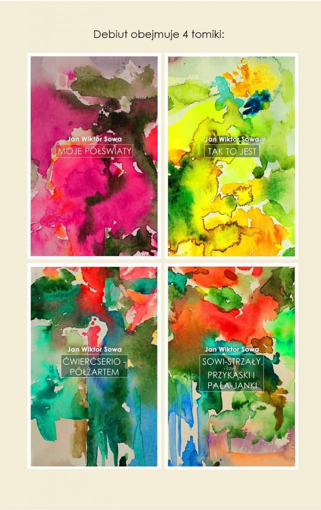 4 tomiki Sowy